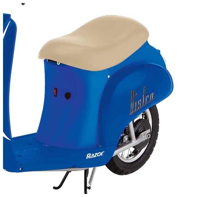 15130641 + 97778 Razor Pocket Mod Miniature Electric Scooter + Youth Helmet 5