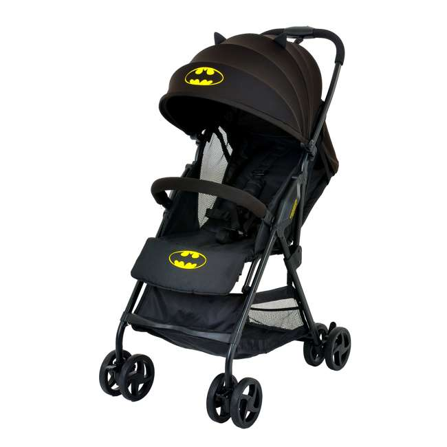 KE-7701BATBK Kids Embrace DC Comics Batman Compact Toddler Stroller