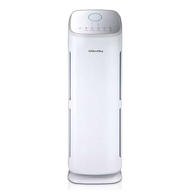 AP-1216L-U-A Coway 4 Stage Filtration Air Purifier Tower w/ True HEPA Filter, White(Open Box)