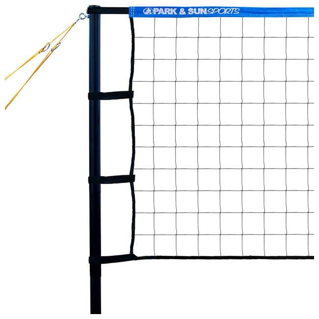 TP-179-BL-OB Park & Sun Sports Spectrum 179  Outdoor Volleyball Net Set (Open Box) 2