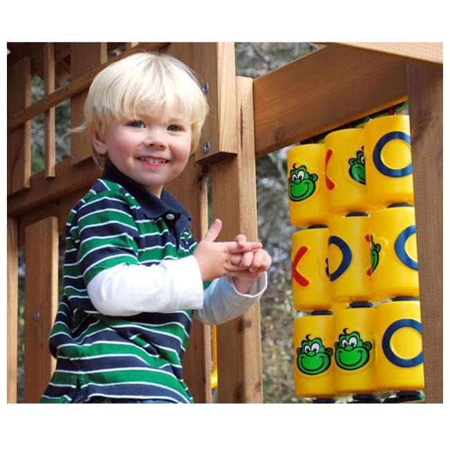 50514-100 Creative Playthings 50514-100 Kids Tic Tac Toe Game Panel Play Set Accessory 1