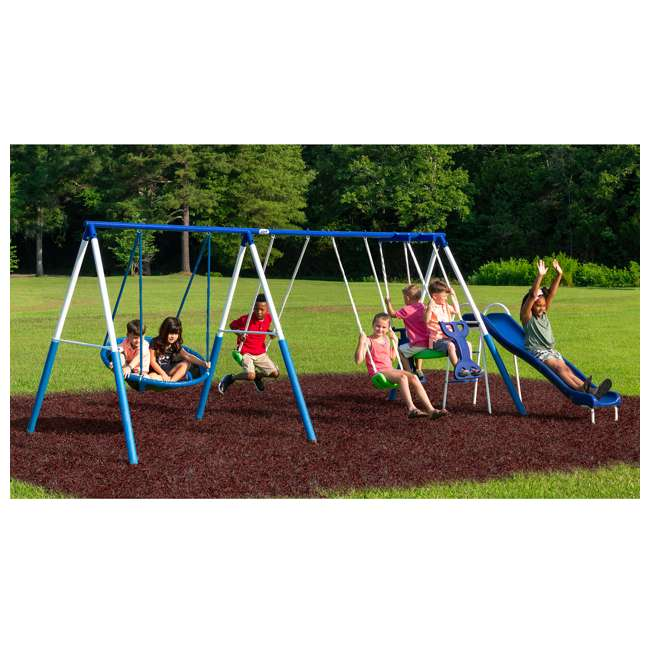 XDP-76208 XDP Recreation All-Star Outdoor Playground Kids' Swing Set 6