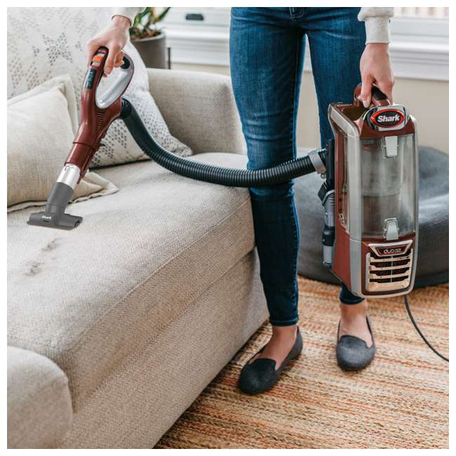 NV801-U-B Shark DuoClean Lift Away Speed Upright Canister Vacuum Cleaner (Used) 4