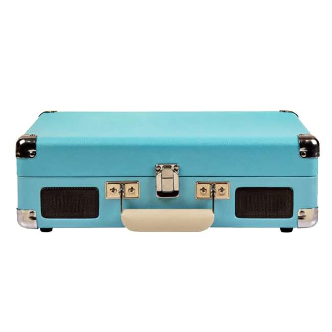 CR8005D-TU Crosley Cruiser Deluxe Portable Bluetooth Turntable, Turquoise 2