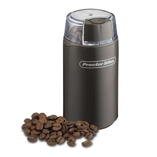46201 + 80300 Hamilton Beach 12-Cup Coffee Maker & Proctor Silex Coffee and Spice Grinder 8