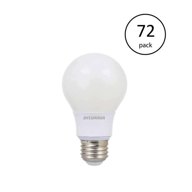 72 x SYL-79245 Sylvania Ultra A19 40W 120V E26 Dimmable Daylight 5000K LED Light Bulb (72 Pack)