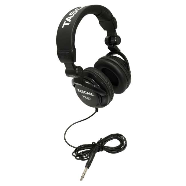 DR-70D + TAS AKDR70C + TH02-B Tascam 4-track PCM Audio Recorder + DSLR Accessory Kit + Studio Headphones 7