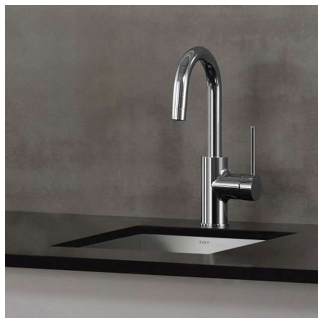 KPF-2600SFS-OB Kraus Oletto Kitchen Bar Faucet, Spot Free Stainless Steel (Open Box) 2
