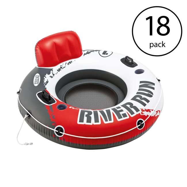 18 x 56825EP Intex River Run 1 Water Inflatable Tube Raft (18 Pack)