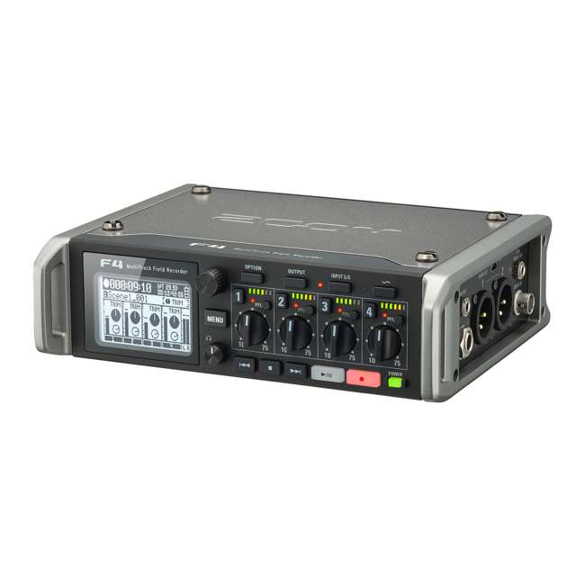 ZF4-OB Zoom F4 Professional MultiTrack Field Recorder 6