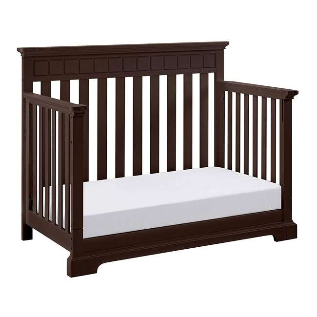 04565-509 + EM711-GJL1 Thomasville Kids Willow Crib, Espresso & Sealy Soybean Crib Mattress 4