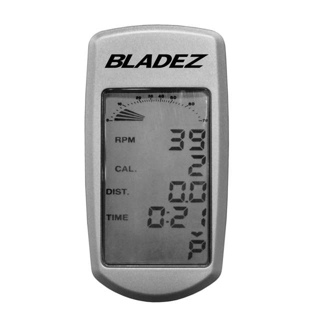 MASTER GS Bladez Master GS LED Console Adjustable Seat Racing Design Stationary Bike 4