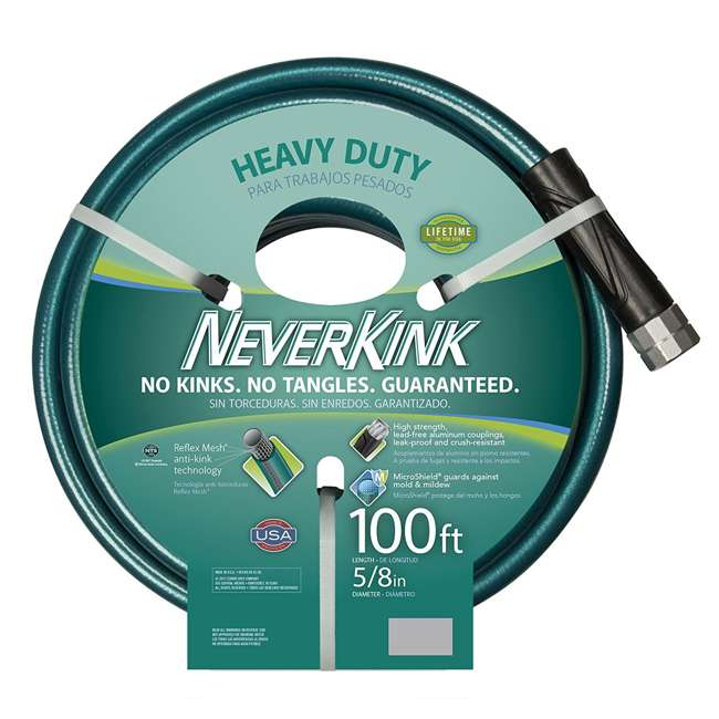 TEK-8615-100-U-A Teknor Apex NeverKink Ultra Flexible Garden Water Hose, 100 Foot (Open Box) 1