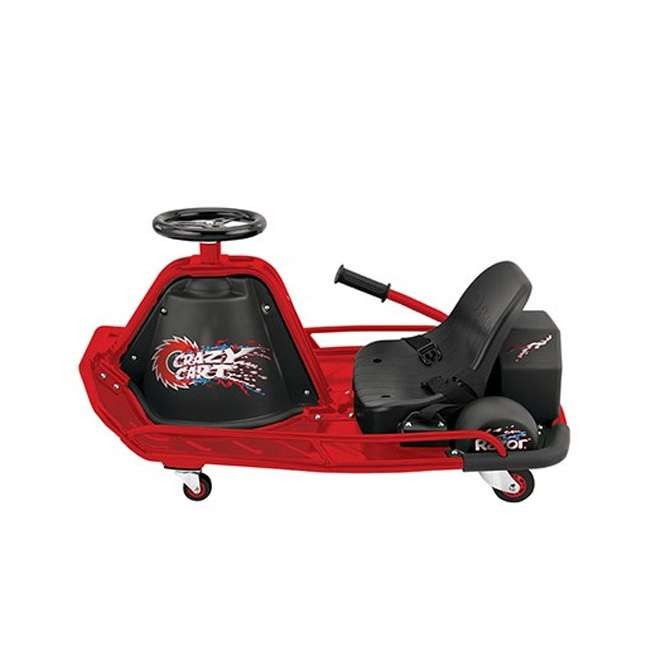 25143499 Razor Crazy Cart Electric 360 Spinning Drifting Ride On Go-Cart  3