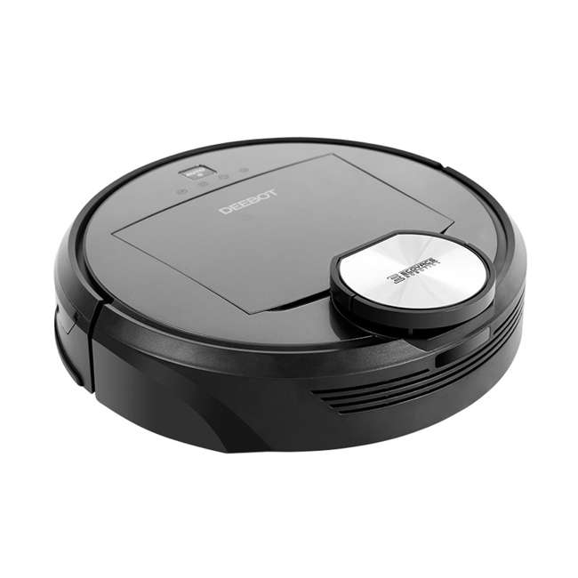 DEEBOTR98-U-C Ecovacs DEEBOT Robotics Bagless Multi Surface Vacuum & Mop, Black (For Parts) 2