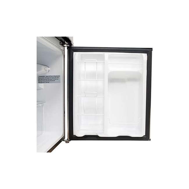 CRF321SS EdgeStar 19 Inch Wide 3.1 Cubic Feet Small Beverage Mini Fridge Freezer (2 Pack) 4