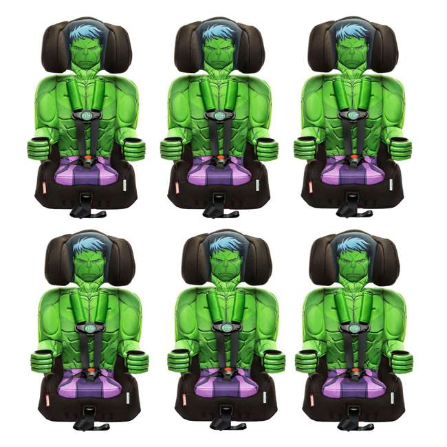6 x KE-3001HLK Kids Embrace Marvel Avengers Incredible Hulk Combination Car Seat  (6 Pack)