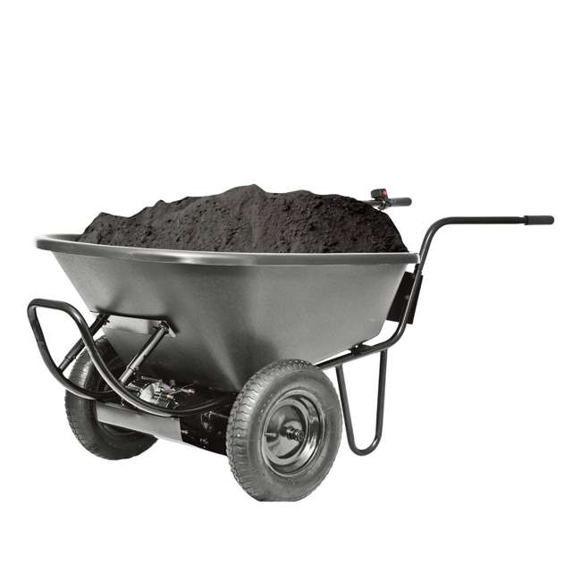 44183-U-A PAW: Power Assist Wheelbarrow Poly Tray for Electric Drive System (Open Box) 2