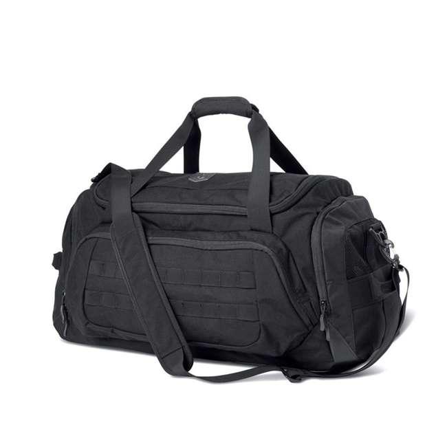 CPG-DB-CTD-M-B Cannae Pro Gear 500D Nylon 60-Liter Transport Duffle Bag, Black 5