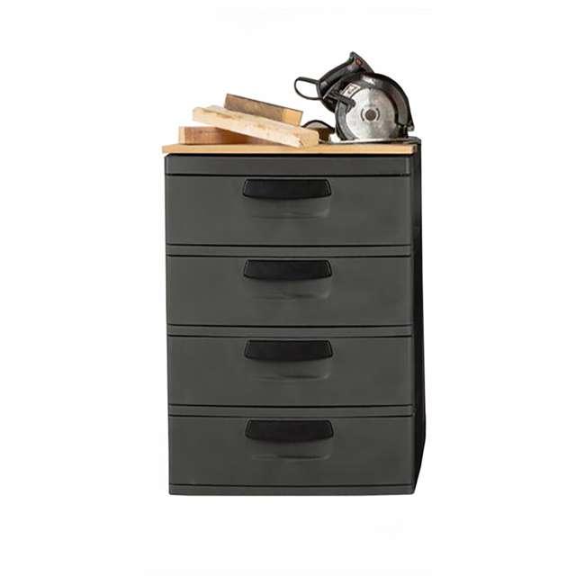 12 x 01743V01 Sterilite 4-Drawer Storage Unit (12 Pack) 3