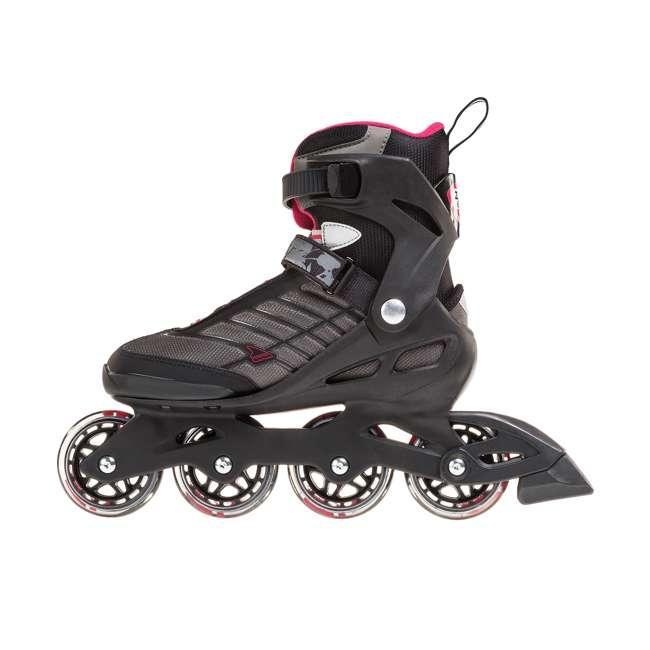 077369009V1-7 Rollerblade Zetrablade Womens W Adult Fitness Inline Skate Size 7, Black/Cherry 3