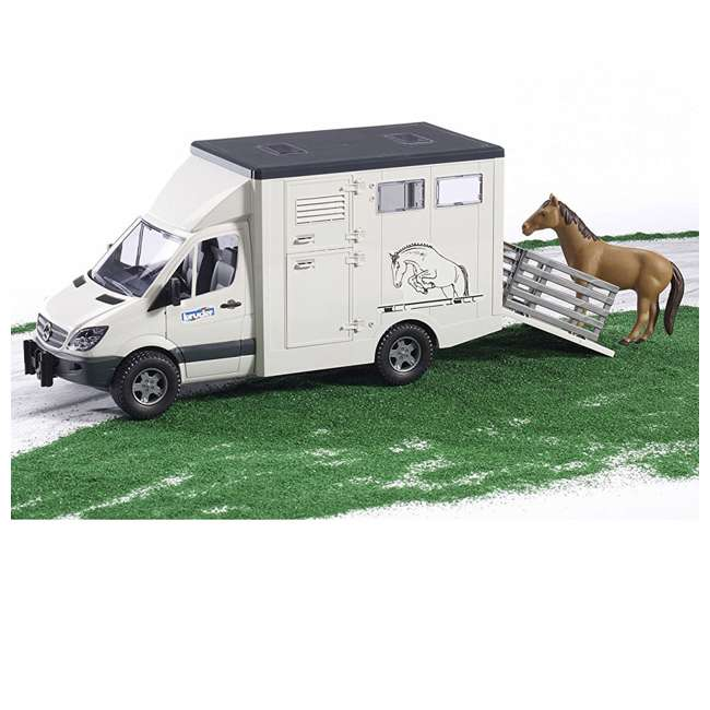 4 x 02533-BR Bruder Toys Mercedes Benz Sprinter Animal Transporter (4 Pack) 4