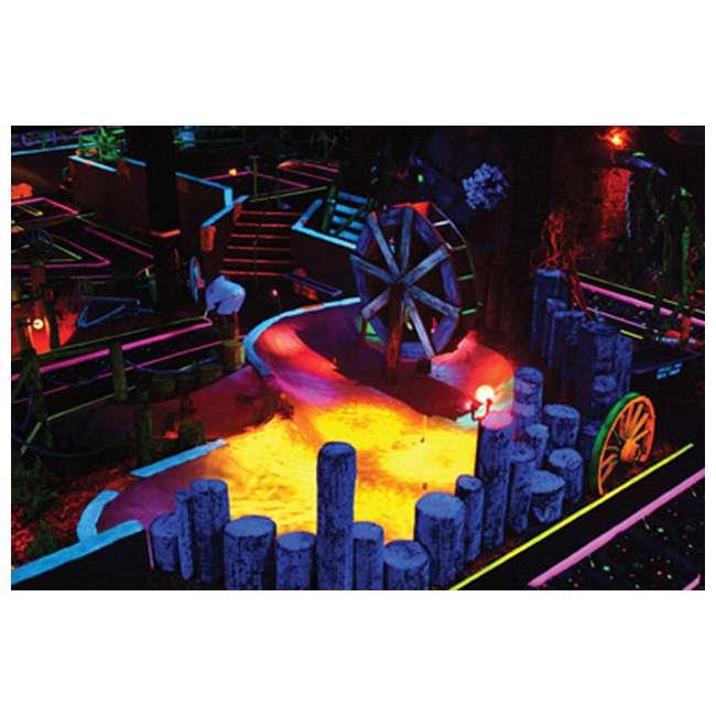 3 x ECO-UVBAR-PLUS-IR American DJ Eco UV Bar Plus IR Ultraviolet LED Black Light Fixture w/Remote (3) 6
