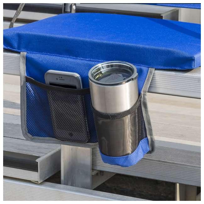 1-1-58814-DS EastPoint Sports Adjustable Bleacher Backrest Seat, Royal Blue 5