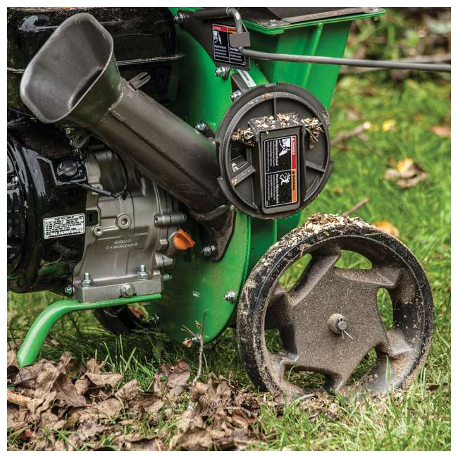 EARTH-30520 + EARTH-1692327 Earthquake Tazz Shredders Compact Wood Chipper & Chipper/Shredder Tow Bar Hitch 5
