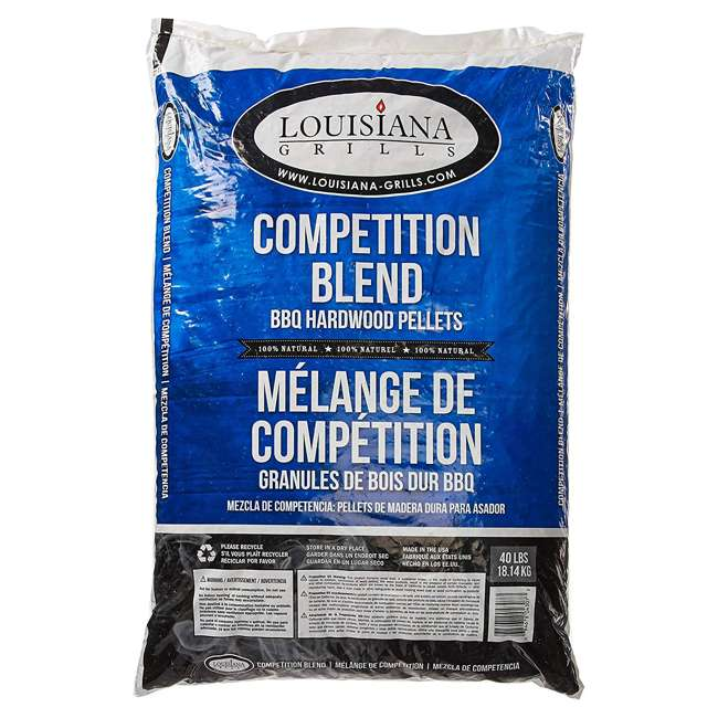 55405 Louisiana Grills 55405 Maple Hickory Cherry Competition Blend Pellets, 40 pounds