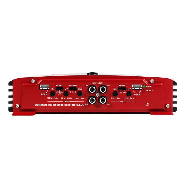 PX-1000.4 + PX-1000.2 Crunch 4 Channel and 2 channel 1000 Watt Amp A/B Class Car Stereo Amplifiers 4