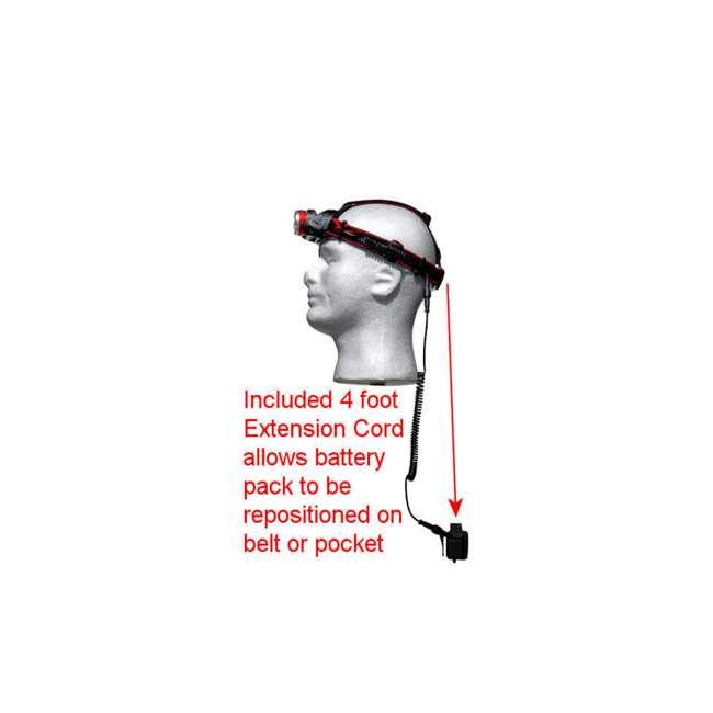 MXN00630 Maxxeon 630 WorkStar Technician's Micro USB Rechargeable LED Work Headlamp, Red 7