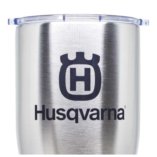 HUSQ-TUMBLER Husqvarna Orca Chaser Stainless Steel Tumbler 4