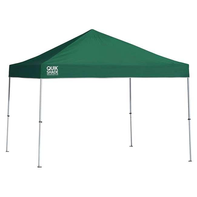 QS-157366DS-U-A Quik Shade Weekender Elite 10 x 10 Ft Pop Up Canopy, Green (Open Box)