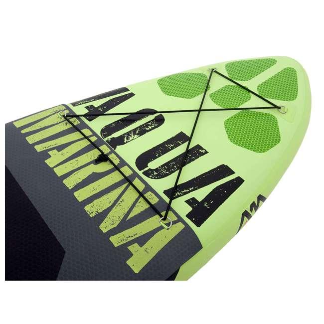 BT-17TH-U-B Aqua Marina Thrive 117 Inch Stand Up Paddleboard Set w/ Pump, Green (Used) 1