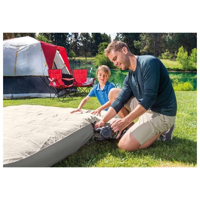 66641E + 66803EP Intex 120V Cordless Electric Air Pump Intex Kidz Inflatable Air Mattress w/ Bag 4