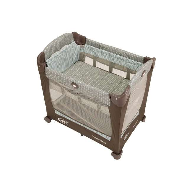 1780721 Graco Travel Lite Portable Baby Crib - Notting Hill 2