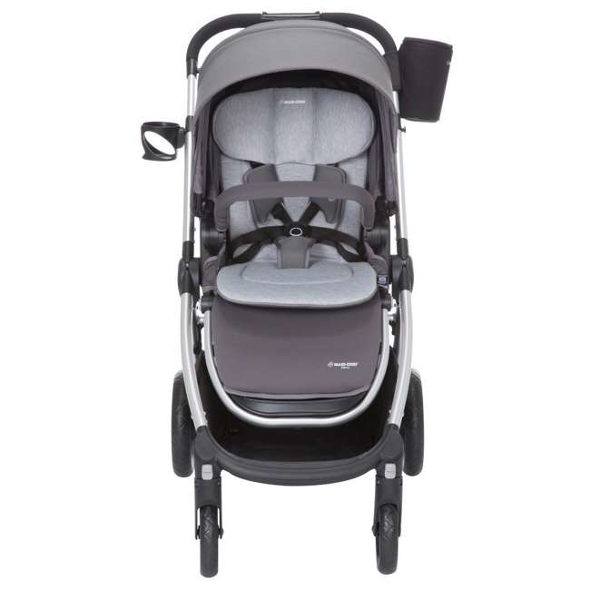 TR362CTF Maxi-Cosi Adorra Stroller and Car Seat Travel System, Loyal Gray 1