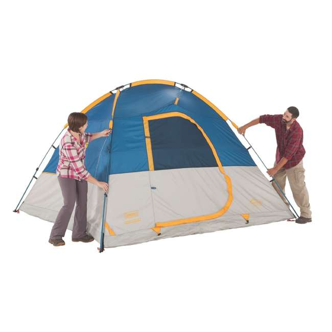 Coleman 10 X 9 Foot Flatiron 6 Person Instant Dome Tent