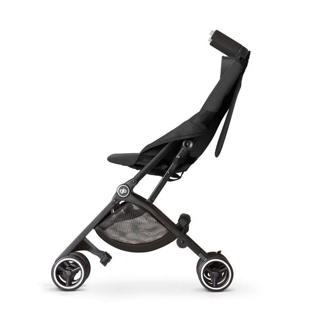 618000791 Pockit Record Collapsible Stroller, Black 2