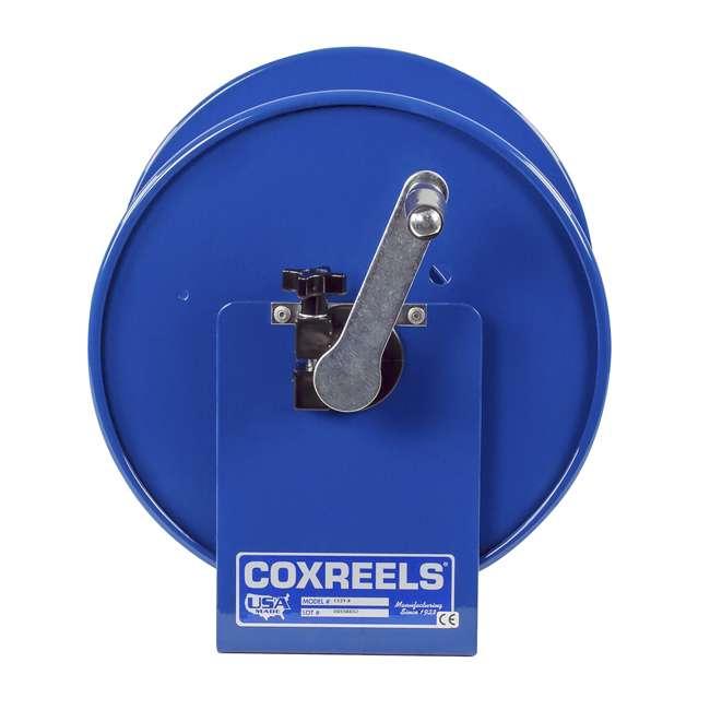 112Y-12 Coxreels Hand-Crank Steel Electrical Cord Storage Reel 4