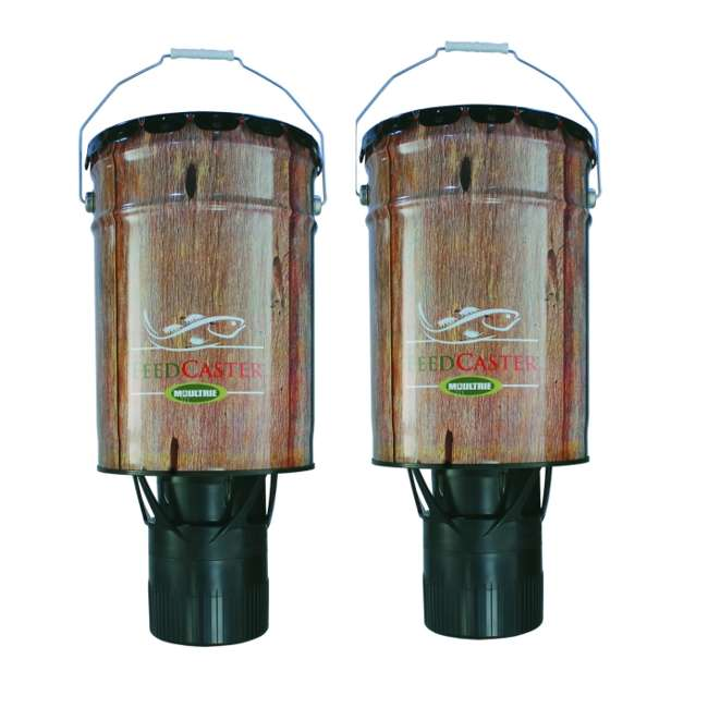 MFHP60057 (2) Moultrie 6 Gallon Automatic Fish Feeders | PS1