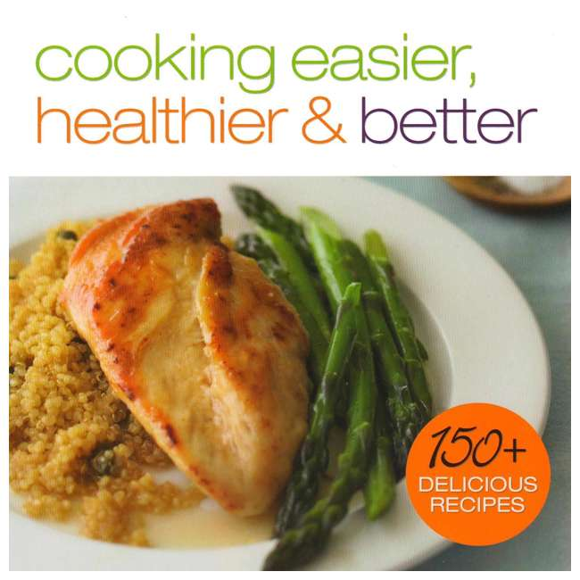 XC701K3 + CB700 Ninja Roaster Utensil Kit + Cooking Easier, Healthier, & Better 150 Recipe Book 7