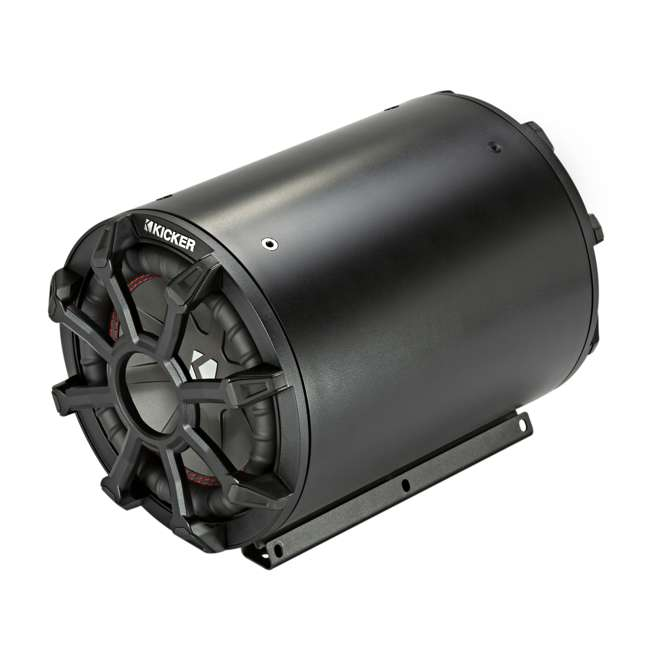 45CWTB102 Kicker 10-Inch 800-Watt Max 2-Ohm Enclosed Tube Subwoofer 1