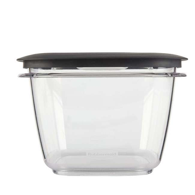 1951296 Rubbermaid Premier Easy Find Lids Clear Storage Containers  (2 Pack) 4