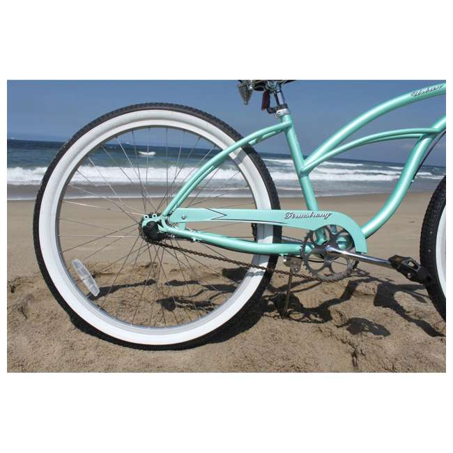 "14602-FM Firmstrong Urban Lady Women's 26"" 3-Speed Cruiser Bike, Mint 8"