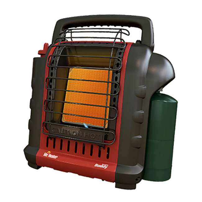 MH-F232000 + MH-13432 Mr. Heater Portable Buddy Propane Gas Heater with Carry Bag 1