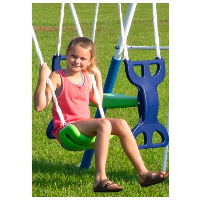 XDP-76208 XDP Recreation All-Star Outdoor Playground Kids' Swing Set 5