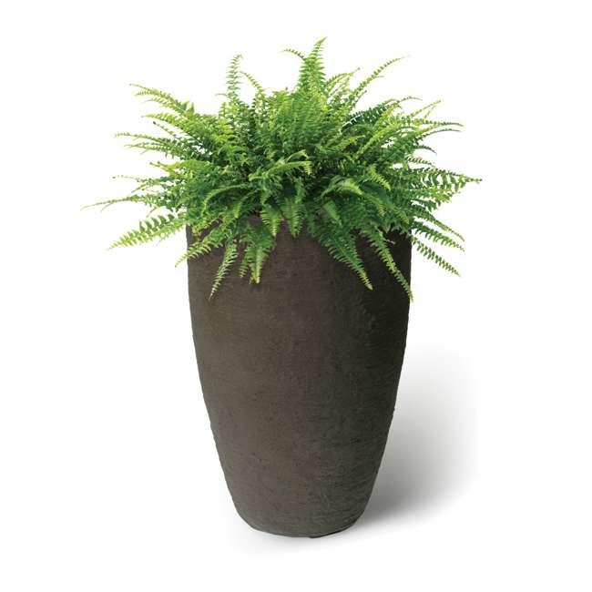 "ALG-87313 Algreen Athena 28.5"" Self-Watering Planter Pot, Brownstone 1"