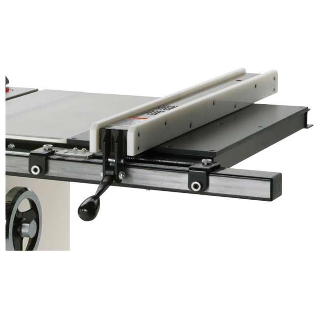 WOOD1820 Shop Fox W1820 3-HP Cabinet Table Saw with Riving Knife and Long Rails, White 5